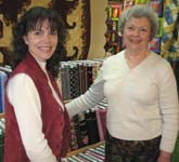 Quilt Store owners